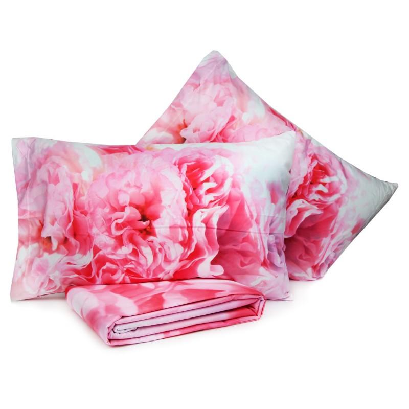 Sacco copripiumino + 2 federe digitalizzati marta marzotto art.bel vedere 2p dis.173 - cp fiori matrimoniale