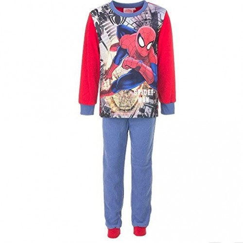 Pigiama lungo in pile marvel spiderman