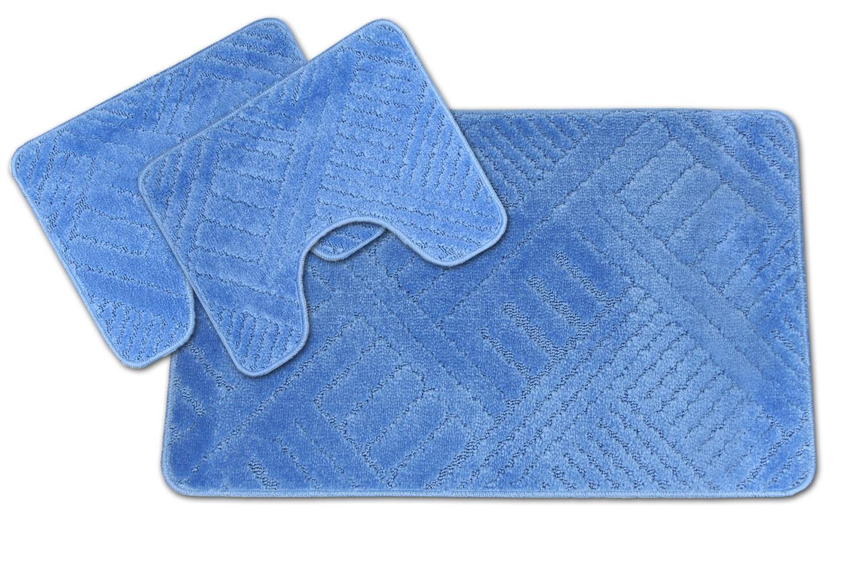 Tappeti Bagno Turchese : Tappeto bagno tris antiscivolo color line